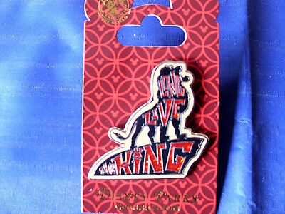 Disney* LONG LIVE THE KING - LION KING - SIMBA * New on Card Sparkle Trading Pin