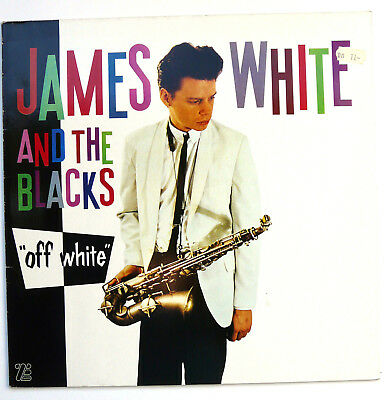 "James White & The Blacks -  Off White 12"""" Vinyl Island 202 452-320 1979 Selten!"