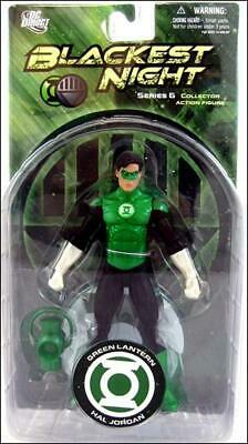 "Blackest Night Series 6 Green Lantern Hal Jordan 6"" Action Figure DC Direct Toys"