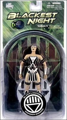 Blackest Night Series 4 Wonder Woman 6in Action Figure DC Direct Toys
