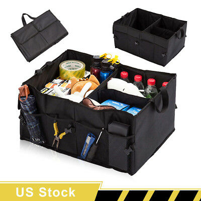 New Car Trunk Organizer Foldable Boot Storage Box Collapsible Auto Cargo Bag SUV
