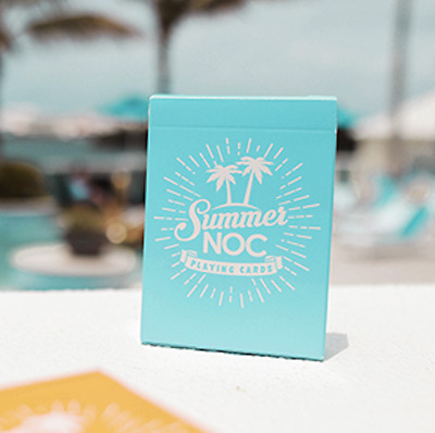 Limited Edition Summer NOC (Blue) Playing Cards