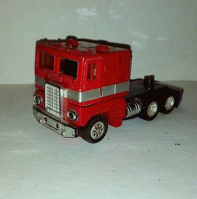 diaclone powered convoy n 50 transformers rosso