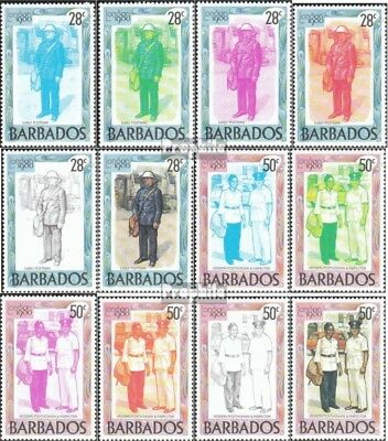 barbados 502-513 unmounted mint / never hinged 1980 Stamp Exhibition
