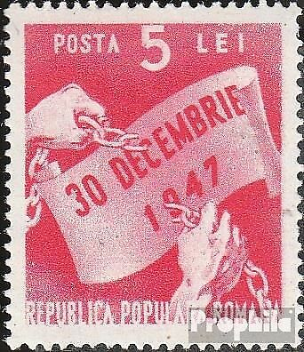 Romania 1170 unmounted mint / never hinged 1948 1Jahr People's Republic of