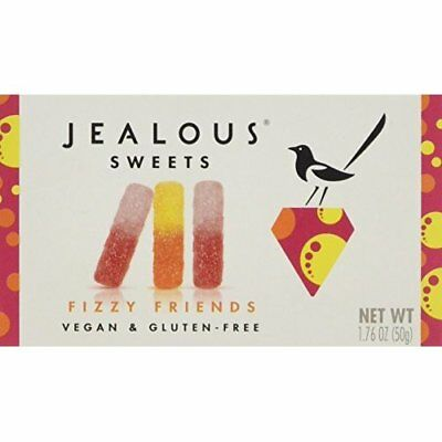 Jealous Sweets Tangy Worms Jelly, 50 g, Pack of 6