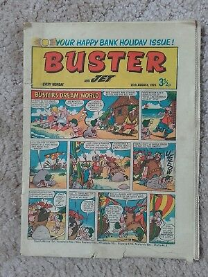 Buster 25Th August 1973 Post Free