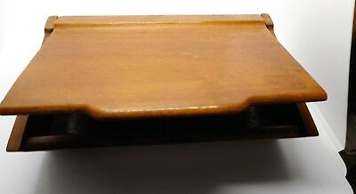 Art Deco style wooden box, probably cigarette box, nicely shaped lid.