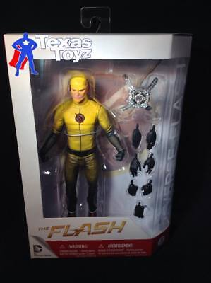 DC Collectibles CW TV REVERSE yellow FLASH 7in. Action Figure =FREE SHiP=