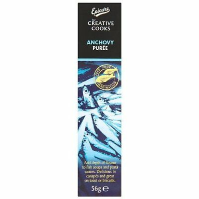 Epicure Anchovy Puree 60 g (Pack of 12)