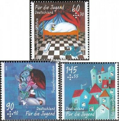 FRD (FR.Germany) 3096-3098 unmounted mint / never hinged 2014 Traumfresserchen o