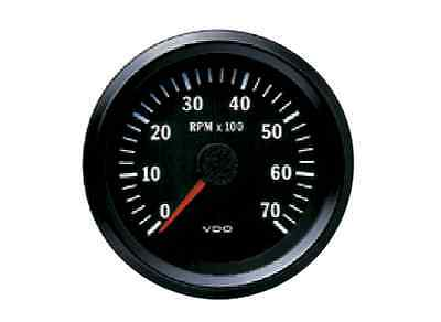 VDO Electronic 12V 85mm Tachometer 0-7000rpm 333 015 033