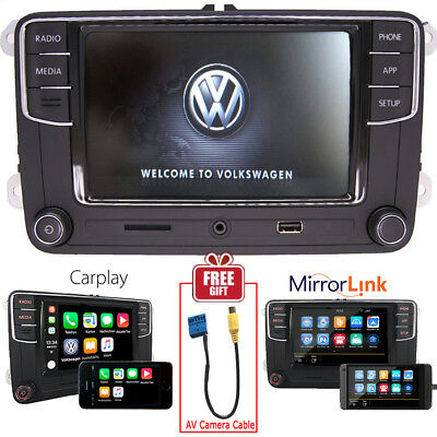 "6.5"" Car Radio MIB2 RCD510 Carplay MirroLinnk BT RVC VW PASSAT GOLF POLO CADDY"