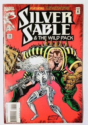Silver Sable and the Wild Pack #32 (Jan 1995, Marvel) VF
