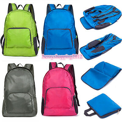 Portable Waterproof Men Women Outdoor Sports Gym Foldable Backpacks Shoulder Bag