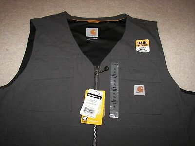 Carhartt Work Wear 37.5 Rain Defender Men's Briscoe Work Vest XL NWT $80 Retail