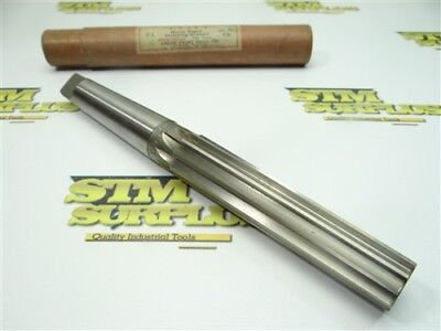 Very Nice! Hss No. 3 Morse Taper Finishing Reamer Manufactured By Union