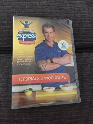 The Biggest Loser Express rapid weight loss program guide tutorial workout dvds
