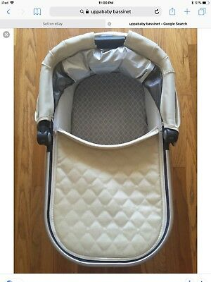 uppababy bassinet + stand