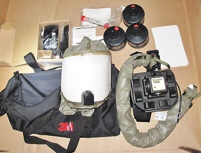 3M Breathe Easy Butyl Rubber Hood Powered Air Purifying Respirator (PAPR) System