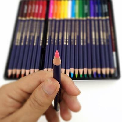 Watercolor Pencils Set Drawing Crayons Colored Pens Art Sketch Color Students