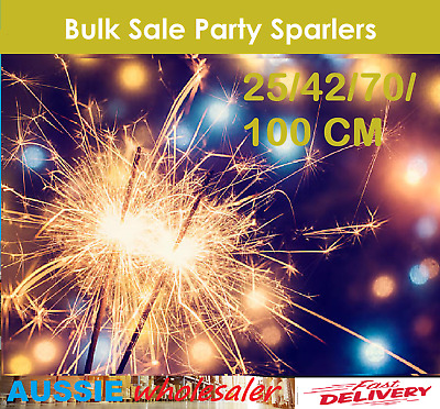 Sparklers Party Sparkler Birthdays Party Parties Wedding Venues 25/42/70/100 CM