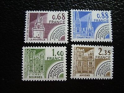 FRANCE - stamp yvert and tellier preoblitere n° 162 a 165 n (A6) stamp french