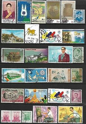 THAILAND A collection of (27) stamps