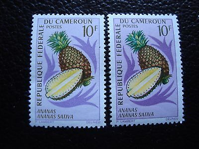 cameroon - stamp yvert and tellier N° 448 x2 n (A03) stamp cameroon (Z)
