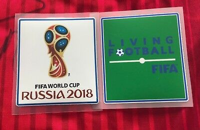FIFA World Cup Russia 2018 Football Soccer Jersey Iron On Patch Set Player Issue