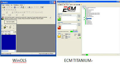 New ECM Titanium 26100 drivers SoftWare Tuning Remap Control + winols 2.26 damos