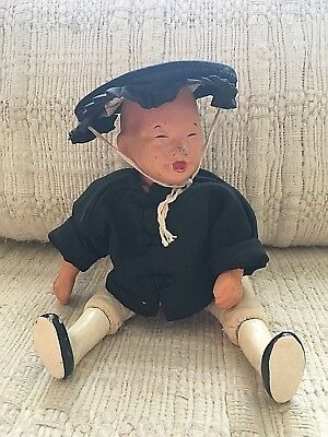 Vintage 50s MICALE by Michael Lee Chinese Character doll unknown name
