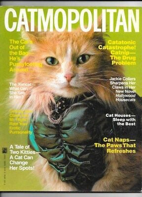 Catmopolitan Softcover Book Pocket Books 1987
