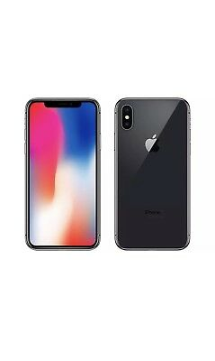 Apple iPhone X- 64gb Brand New UNLOCKED with case.
