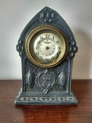 Ornate Antique Vintage Kienzle Clock West Germany Spares or Repair
