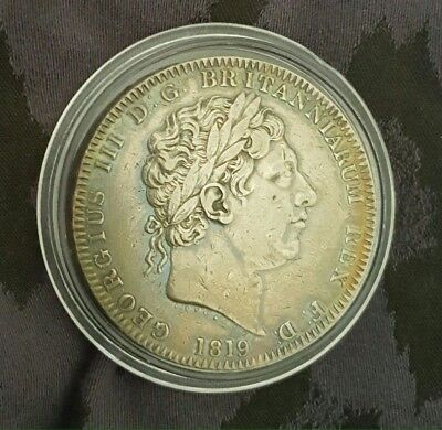 1819 George III Silver Crown - Low reserve for condition!