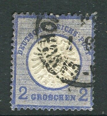 GERMANY; 1872 early classic Shield issue used 2g. value