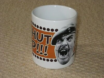 It Aint Half Hot Mum Windsor Davies Shut Up MUG