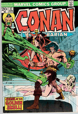 Conan the Barbarian #37 (1974) VF/NM 9.0  Neal Adams cover and art