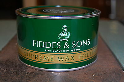 Fiddes Light/clear Supreme Wax Polish 400Ml