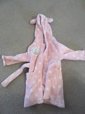 Girl's Dressing Gown 12-18 Months