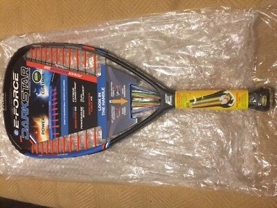 E-Force Darkstar 160 Racquetball Racquet Totally Brand New Model!! With Warranty