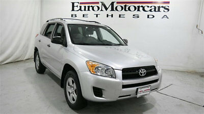 Toyota RAV4 FWD 4dr 4-cyl 4-Speed Automatic toyota rav4 4runner automatic 09 10 11 suv truck used silver grey