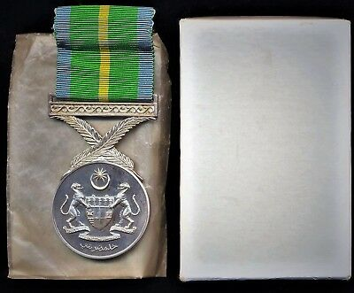 Commonwealth Medal Malaysia Active Service Medal 1960-67 Insurgency & Congo MINT