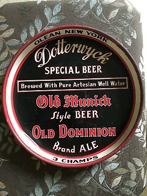 Rare Dotterwyck Special Beer Olean New York 3 Champs Tray