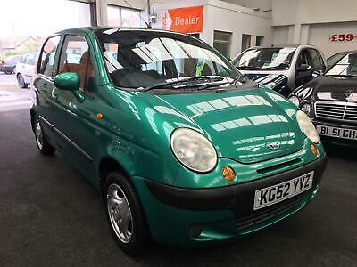 2003 DAEWOO MATIZ SE+ 5dr [AC] From £1950+Retail package.