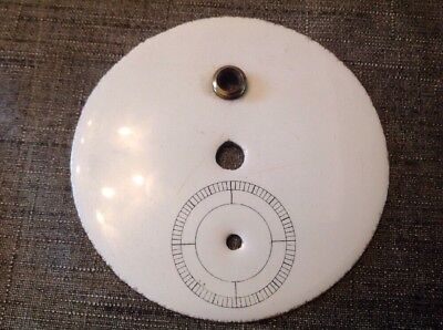 Antique Vienna Clock Dial Face Centre Ceramic 85mm Clockmakers Spare Parts