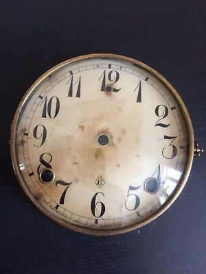 William Gilbert Hinged Bezel, Dial And Glass.
