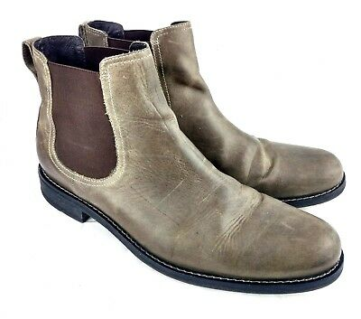 Cole Haan C09769 Mens Sz 13 Chelsea Ankle Boots Light Brown Leather 94-5
