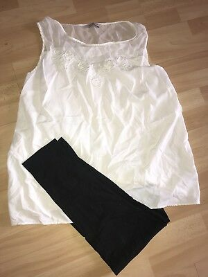 Maternity Pregnancy Clothes Bundle Size 16 Work Clothes Top Office Trousers